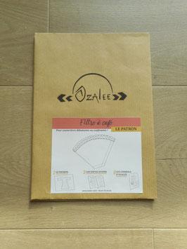 Patron de couture pour filtre à café lavable [papier]