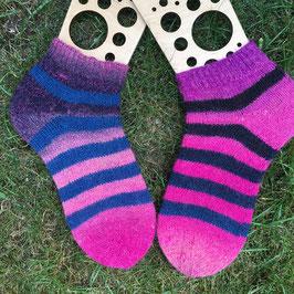 Handgestrickte Socken, Grösse 38/39