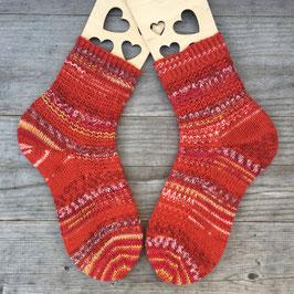 Handgestrickte Socken, Größe 36/37 (Nr. 1)