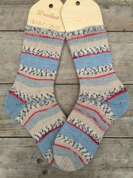 Handgestrickte Socken, Größe 36/37 (Nr. 4)