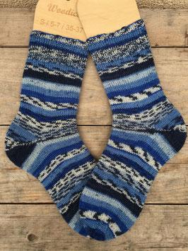 Handgestrickte Socken, Größe 36/37 (Nr. 3)