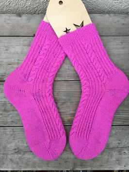 Handgestrickte Socken, Größe 40/41