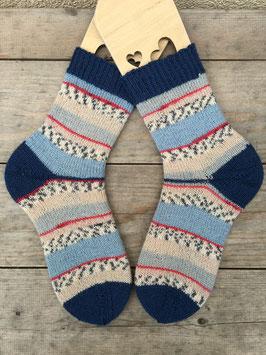 Handgestrickte Socken, Größe 36/37 (Nr. 2)