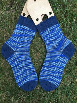 Handgestrickte Socken, Größe 38/39