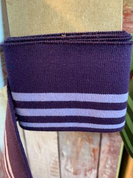 Bündchen violett-lila