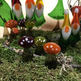Pilze zum Stecken #mitbringsel #adventsdeko