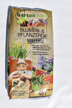 Gartenerde / Pflanzerde Torffrei 40 L