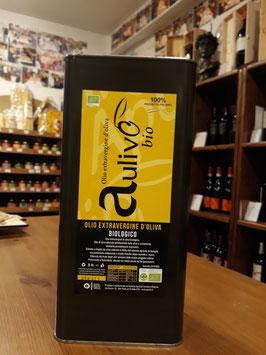 Olio Extra Vergine Aulivo BIO cru - 5 Liter l Neu Ernte