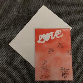 "Karte ""Love"""