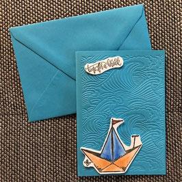 """Karte """"Segelboot"""""""