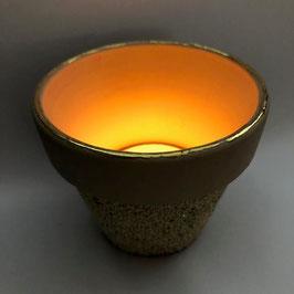Teelichtglas Topf