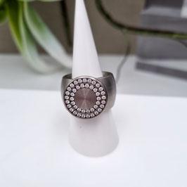 Kado Ring breit mit Zirkonia