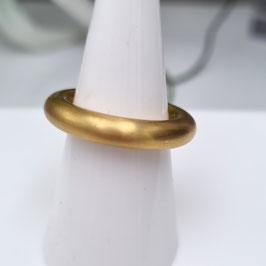 Kado Edelstahlring Gold mattiert 250-4,5-00-G
