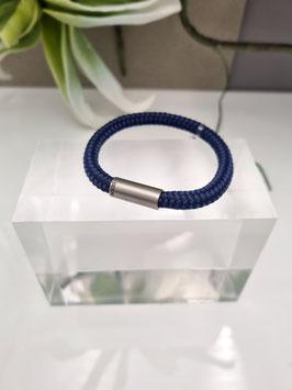 Kado Segeltau Armband mit gerader Edelstahlmagnetschließe