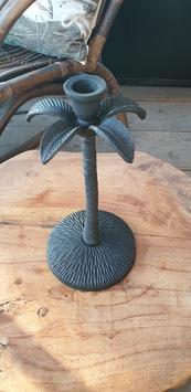 Metalen palmboom kandelaar S