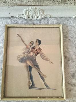 nr: 9086 oud ballerina prentje