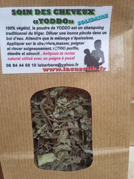YODDO du NIger, le shampoing Végétal sans savon , ultra démêmant