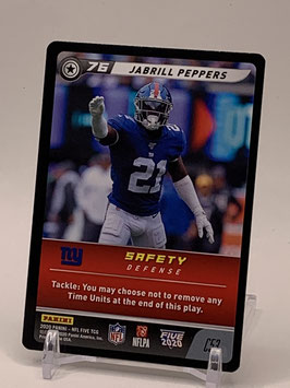 Jabrill Peppers (Giants) 2020 FIVE TCG C53