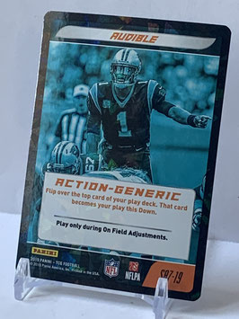 Action Generic: Cam Newton (Panthers) 2019 Panini Five TCG Foil #S87
