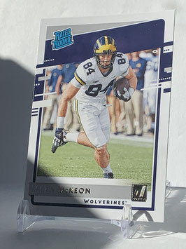 Sean McKeon (Michigan/ Cowboys) 2020 Chronicles Draft Picks Rated Rookie #15