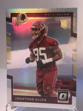 Jonathan Allen (Redskins) 2017 Donruss Optic Holo #138