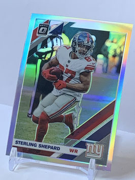Sterling Shepard (Giants) 2019 Donruss Optic Holo Prizm #71