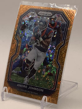 Andre Johnson (Texans) 2020 Prizm Gold Circle Prizm #82