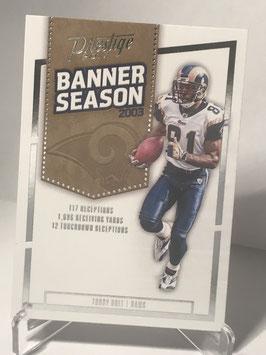 Torry Holt (Rams) 2017 Panini Prestige Banner Season #40