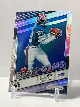Andree Reed (Bills) 2016 Prizm Draft Gems Silver Prizm #14