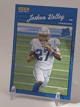 Joshua Kelley (Chargers) 2020 Panini Instant Rated Rookie #RR34