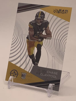Chase Claypool (Steelers) 2020 Chronicles Clear Vision #CV-15