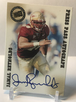 Jamal Reynolds (Florida State/ Packers) 2001 Press Pass SE Autographs #JARE