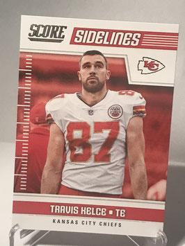 Travis Kelce (Chiefs) 2018 Score Sidelines #16