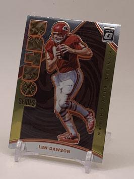 Len Dawson (Chiefs) 2020 Donruss Optic Retro Series #RS-LD