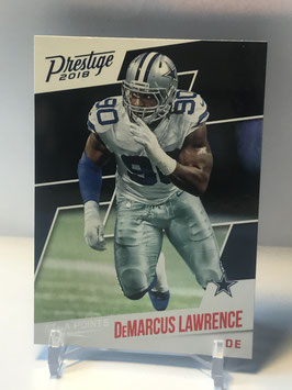 DeMarcus Lawrence (Cowboys) 2018 Prestige Xtra Points Red #41