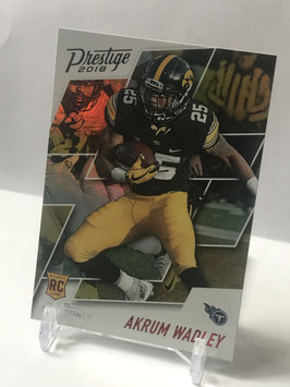 Akrum Wadley (Iowa/ Titans) 2018 Prestige Xtra Points Red #201