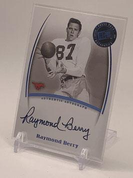 Raymond Berry (SMU/ Colts) 2007 Press Pass Legends Autograph #NNo