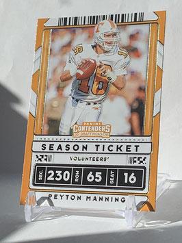 Peyton Manning (Tennessee/ Broncos) 2020 Contenders Draft Picks #81