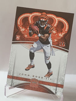 John Ross III (Bengals) 2017 Crown Royale #91