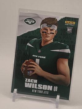 Zach Wilson II (Jets) 2021 Panini Instant Illustration Series #IS-ZW