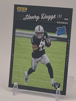 Henry Ruggs II (Raiders) 2020 Panini Instant Rated Rookie #RR5