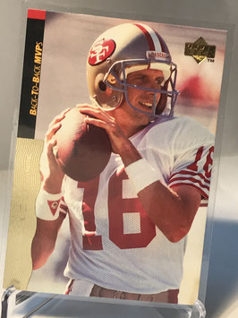 Joe Montana (49ers) 1995 Upper Deck Joe Montana Box Set #23
