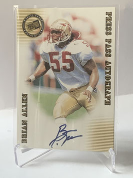 Brian Allen (Florida State/ Packers) 2001 Press Pass SE Autographs #BRAL