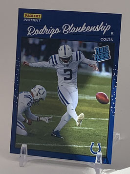 Rodrigo Blankenship (Colts) 2020 Panini Instant Rated Rookie #RR45