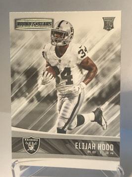 Elijah Hood (Raiders) 2017 Panini Rookies & Stars #276