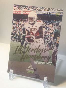 Lil'Jordan Humphrey (Texas/ Saints) 2019 Luminance Bronze #183
