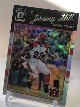 Jeremy Hill (Bengals) 2016 Donruss Optic Holo #21