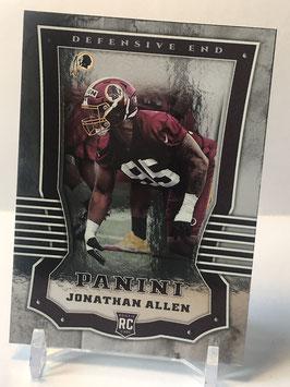 Jonathan Allen (Redskins) 2017 Panini Shíning Armour #113