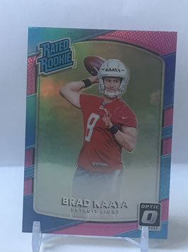 Brad Kaaya (Lions) 2017 Donruss Optic Rated Rookies #173