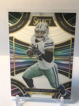 Ezekiel Elliott (Cowboys) 2018 Select Sensations #SE-S